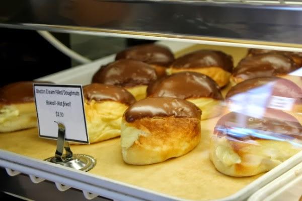 Boston Creme Doughnuts #bakery #doughnuts