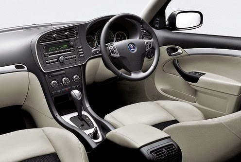 2015 Saab 9-3 interior