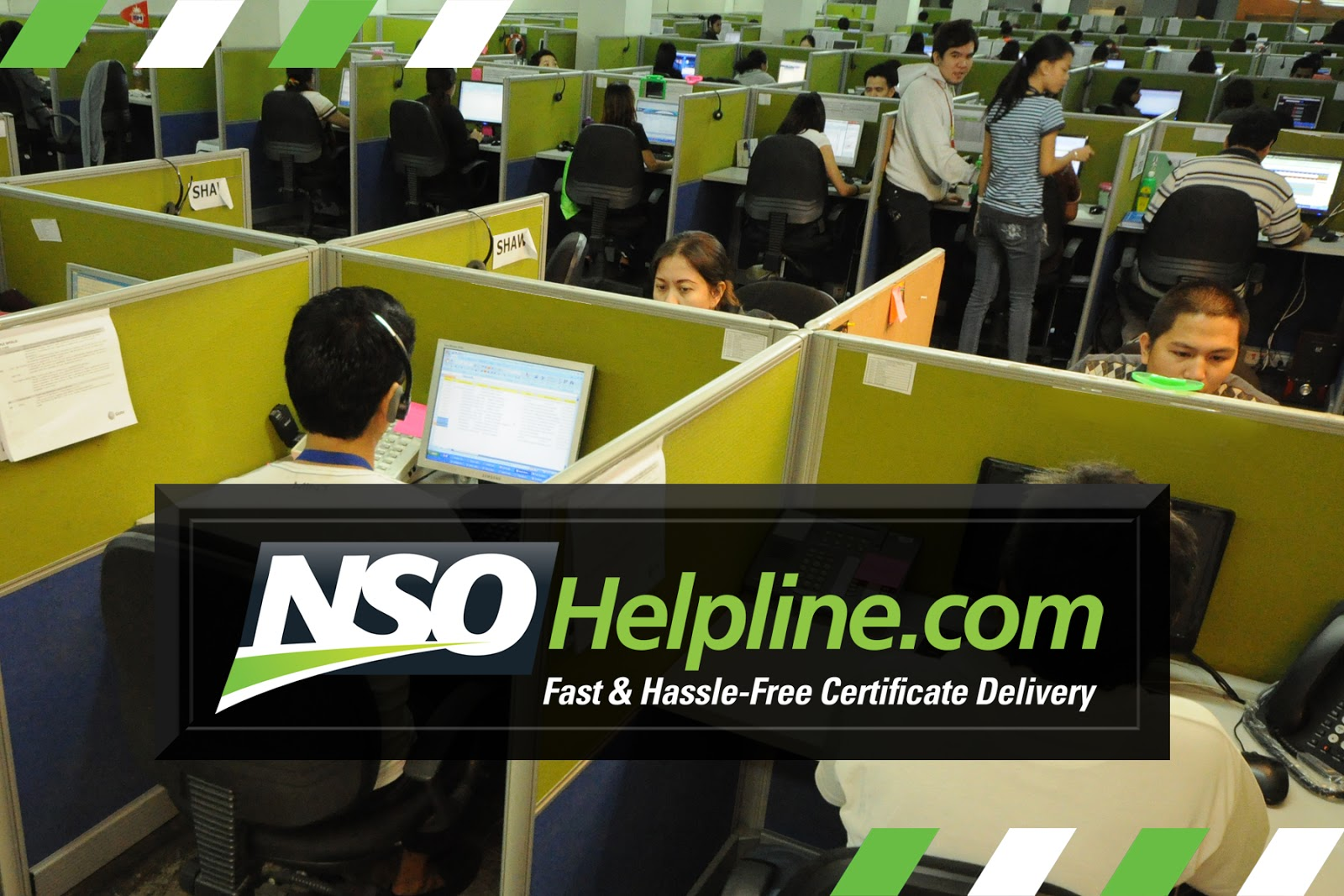 Fast Hassle Free Certificate Delivery From Nsohelpline