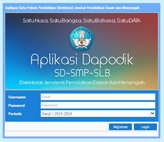 Cara Update Dapodikdas Versi 4.0.3