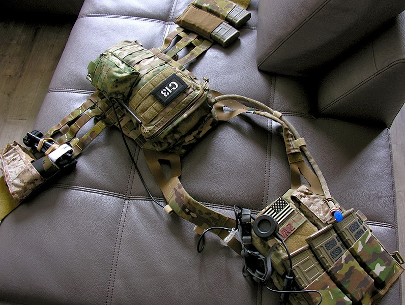 Multicam Crye Precision JPC Jumpable Plate Carrier Vest XL Extra Large