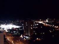 Punta del Este at night