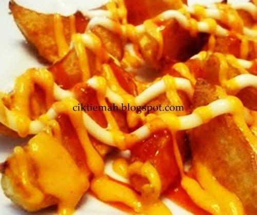 Resepi masakan Potato Wedges sedap dan mudah.
