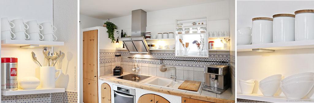 Wir renovieren Ihre Küche : Offene Regale - Kueche