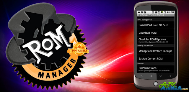 ROM Manager (Premium) v5.5.1.6 APK