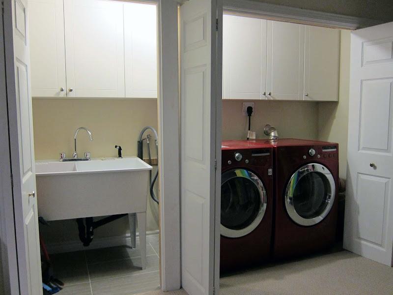 Basement Bathroom and Laundry