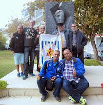 האנדרטה לזכר קורבנות השואה בעיר וולוס