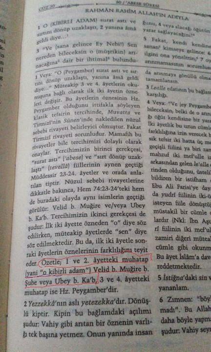 mustafa+islamoğlu+kuran+meali+abese+suresi