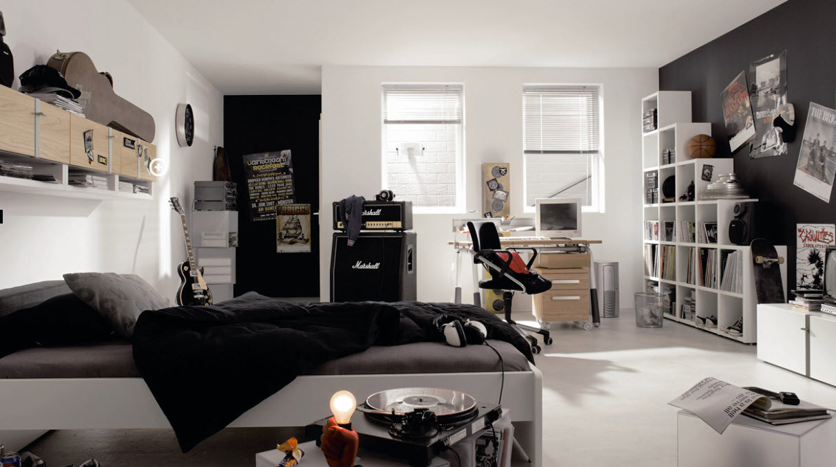 Black Teenage Boy Bedroom Ideas