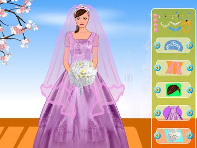juegos de vestir y peinar a novias