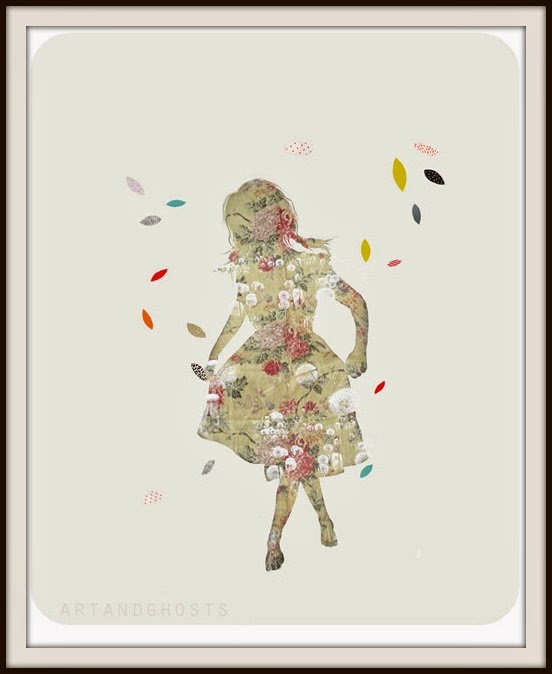 Art, Ghosts, Artwork, illustration, picture, ilustracion, La musa, decoracion, diseño