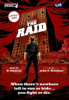 Komik The Raid Resmi Dirilis