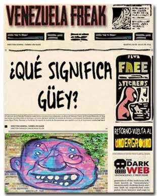 Front page estilo cómic - qué significa guey