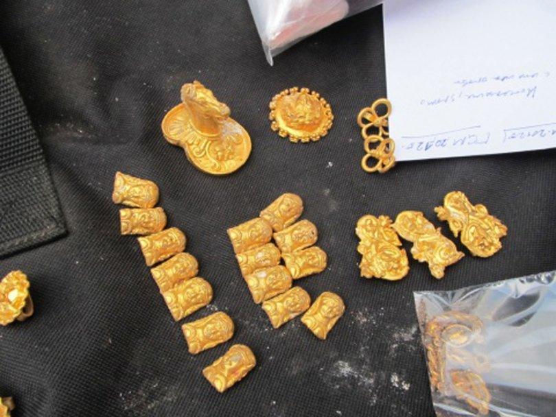 Сокровища гетов обнаружены в болгарии.