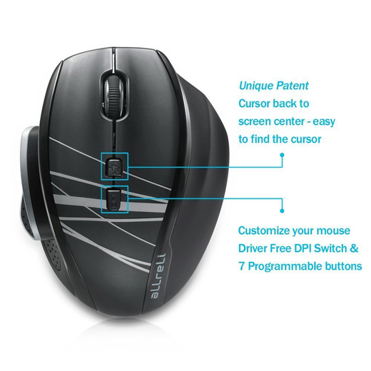 M535 Optical Wireless Mouse
