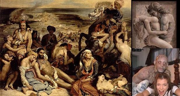 Τον Μάρτιο του 1822 έσφαζαν οι Εβραίοι σαν κρέας σε σφαγείο τους Έλληνες στη Χίο