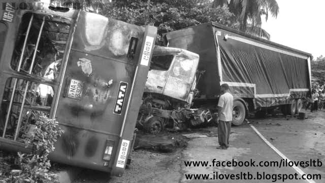 Induruwa bus accident , i love sltb, sltb, ctb