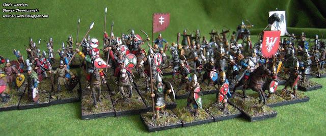 Słowiańscy wojownicy II, skala 1/72 | Slavic warriors II, scale 1/72