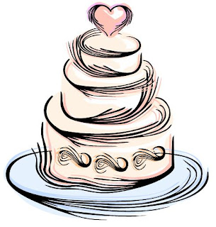 Simple Wedding Cake Clip Art Free