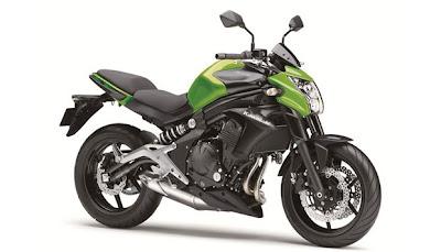 Motor Kawasaki Ninja ER-6n 650 CC milik Ustad Uje/ Jefri Al Buchori