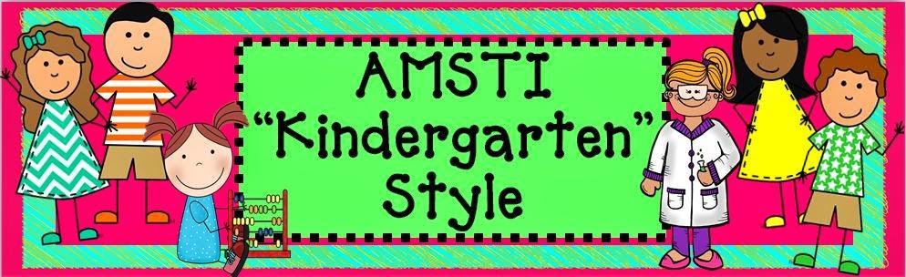 AMSTI Kindergarten Style