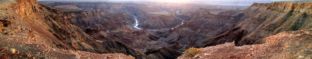 Fish River Canyon at sunset, Namibia