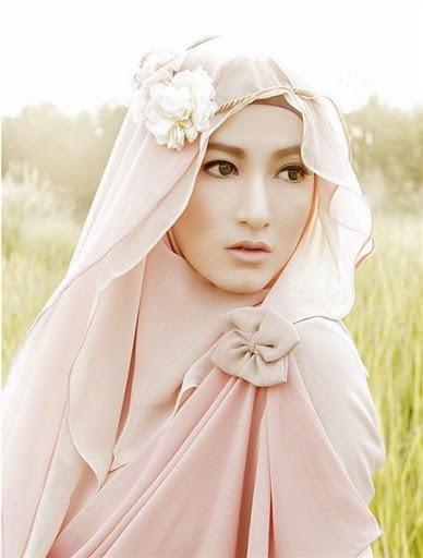 trend model gaya hijab ala lyra virna terbaru 2017/2018