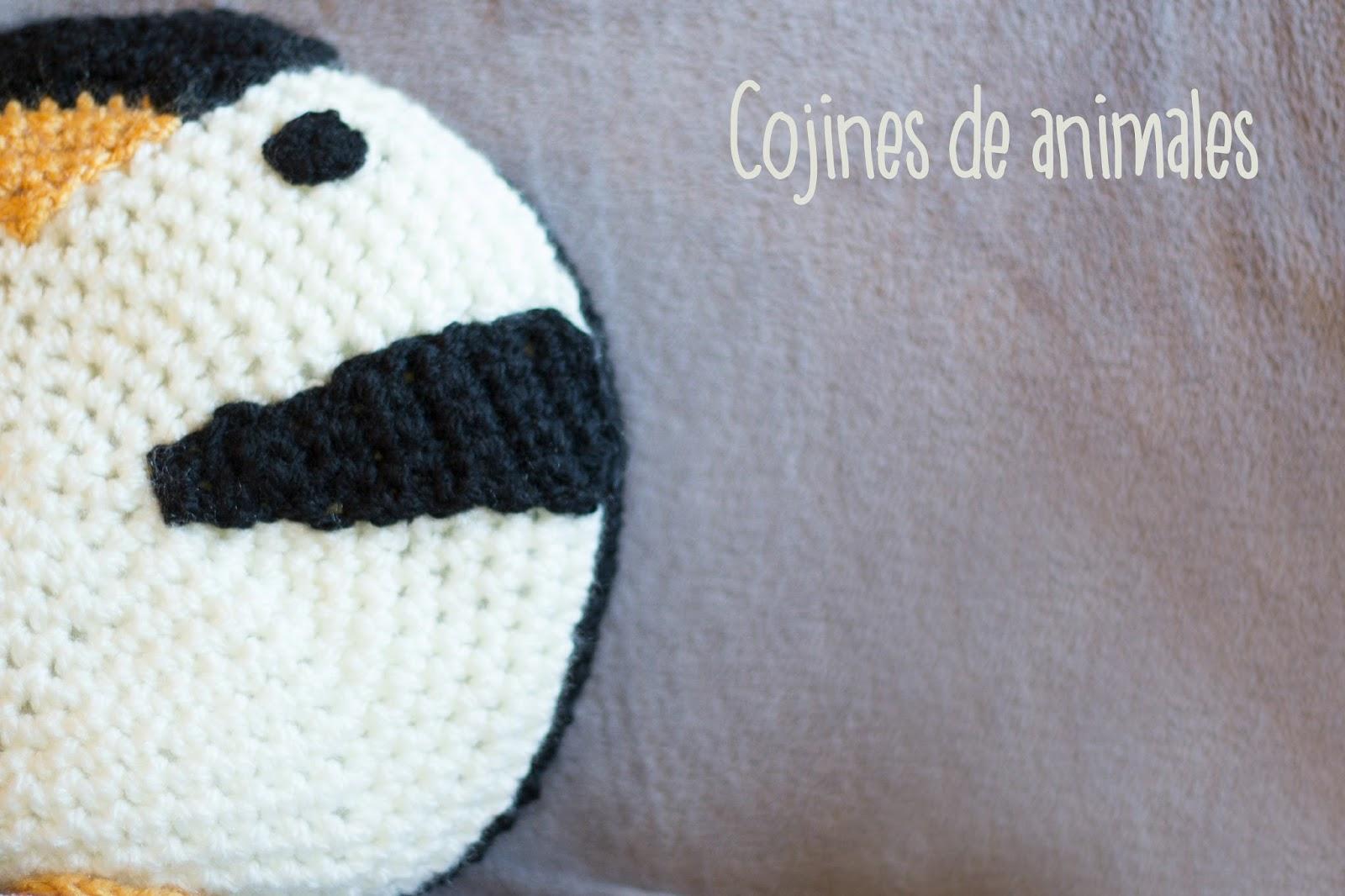 Perfecto Patrones De Almohada Animales Ganchillo Foto - Manta de ...