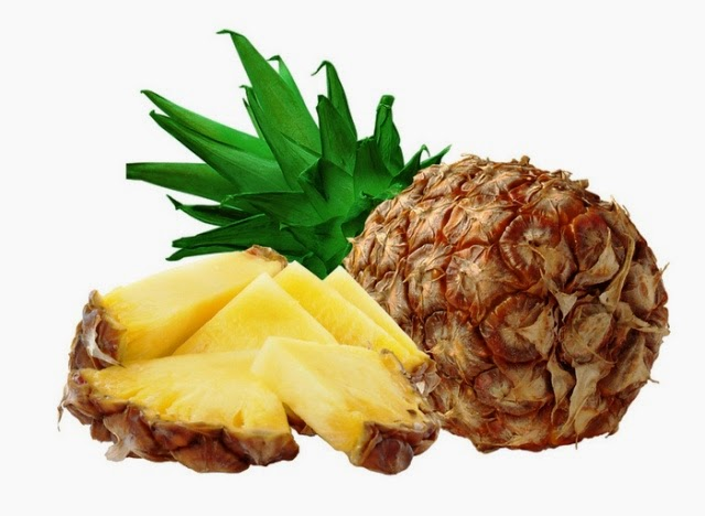 Prevent Skin Wrinkles Using Pineapple Fruit