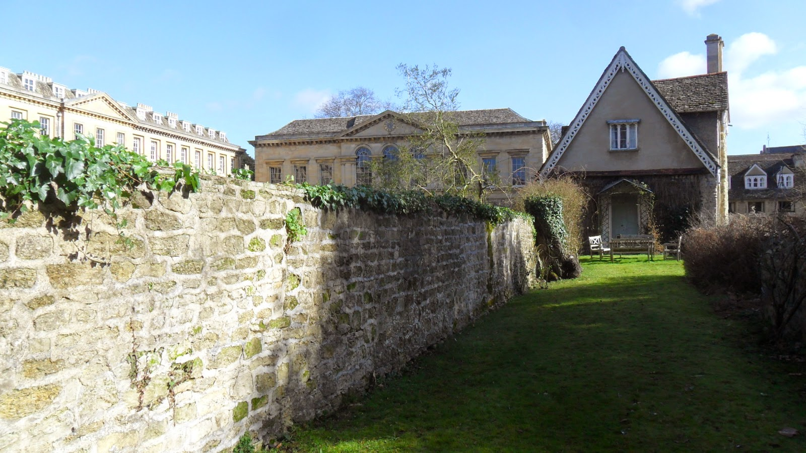 Worcester College Gardeners Reducing The Height Of The