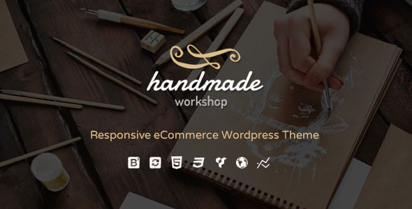 Free Download Handmade V1.1 Shop WordPress WooCommerce Theme