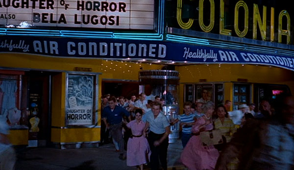 A movie theater in The Blob