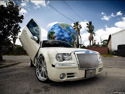 papel parede carro tunado