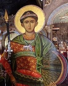 Άγιος Δημήτριος ο Μυροβλύτης ο Αρματωμένος την Αρματωσιά του Θεού (26 Οκτ Αφιέρωμα)