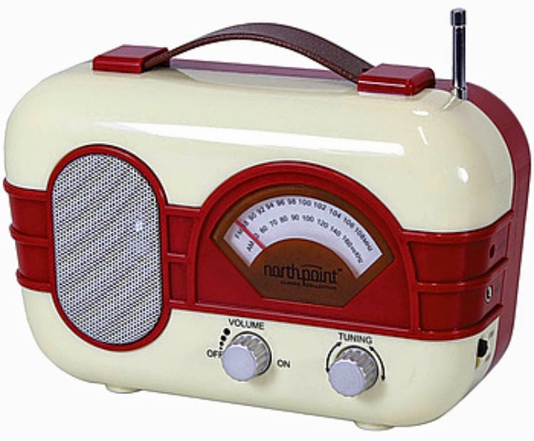 A Vintage Nerd, Vintage Blog, Christmas Gift Guide, 1950's Radio