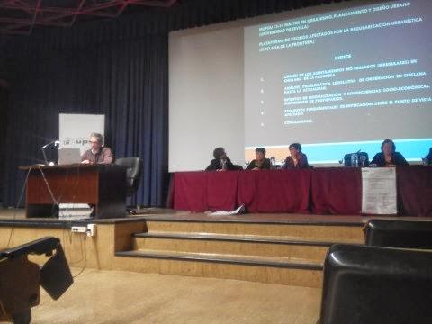 Plataformaporlaregularizacion encuentro celebrado en la escuela tecnica superior de - Escuela tecnica superior de arquitectura sevilla ...