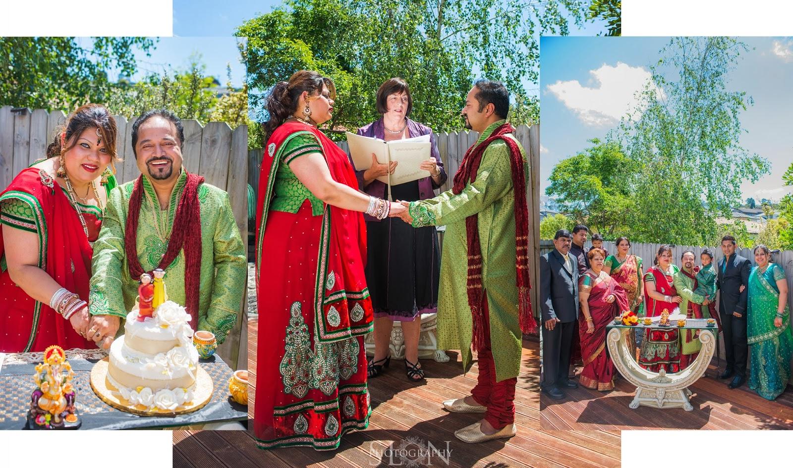 Colourful Cultural Wedding Celebrant Alexa Bartlett