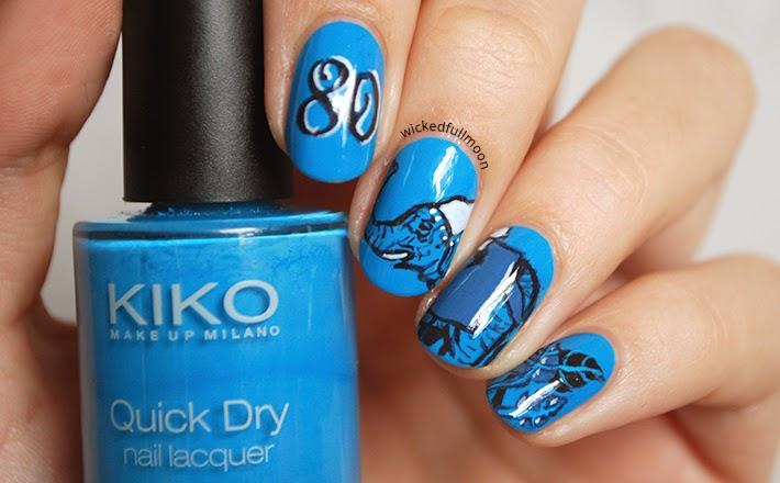 Wicked Fullmoon: | Nail art | La vuelta al mundo en 80 días.