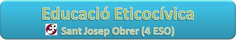 Educació Eticocívica 4 ESO SJO
