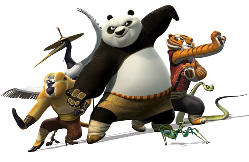 Kung Fu Panda Clipart title=