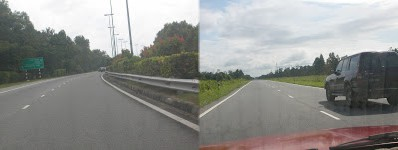 Roads: Highway leading to BSB(Left), Road to BSB(Belait)