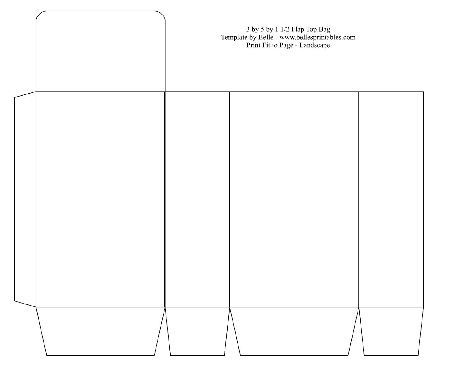 Tote bag template illustrator - Paper Bag Template Bag Tools Images Bag Template Samples