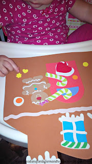 Toddler School - Sticker Craft