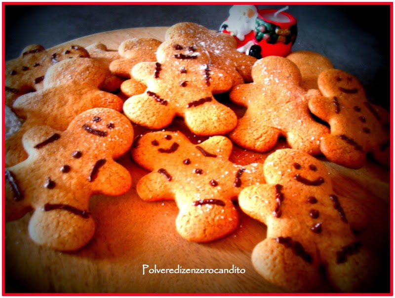 omino di pan di zenzero o gingerbread