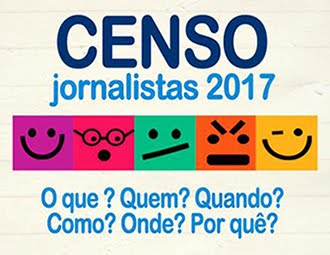 Censo Jornalistas 2017 - Confira o resultado!
