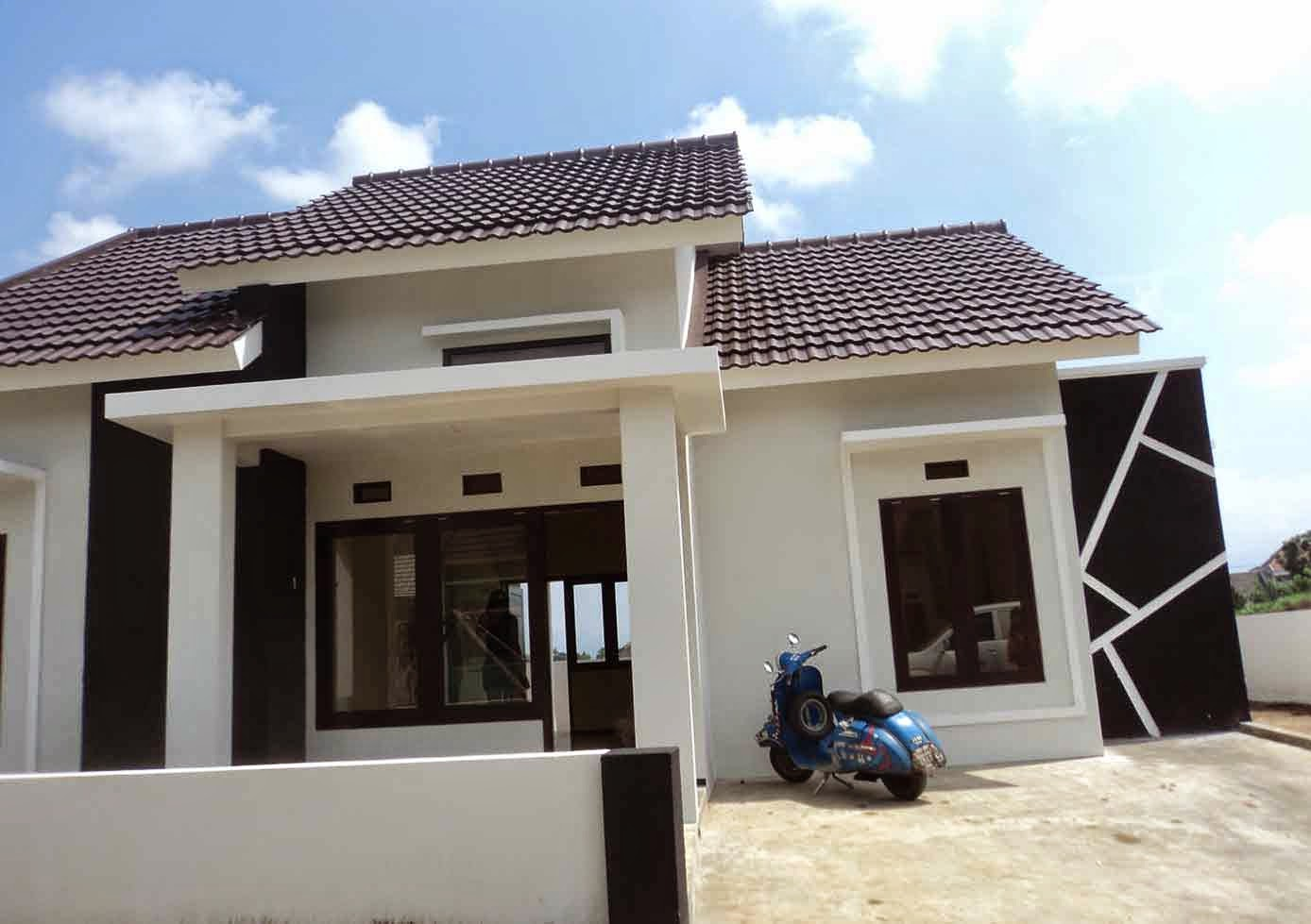 contoh tampak depan rumah minimalis kumpulan model rumah