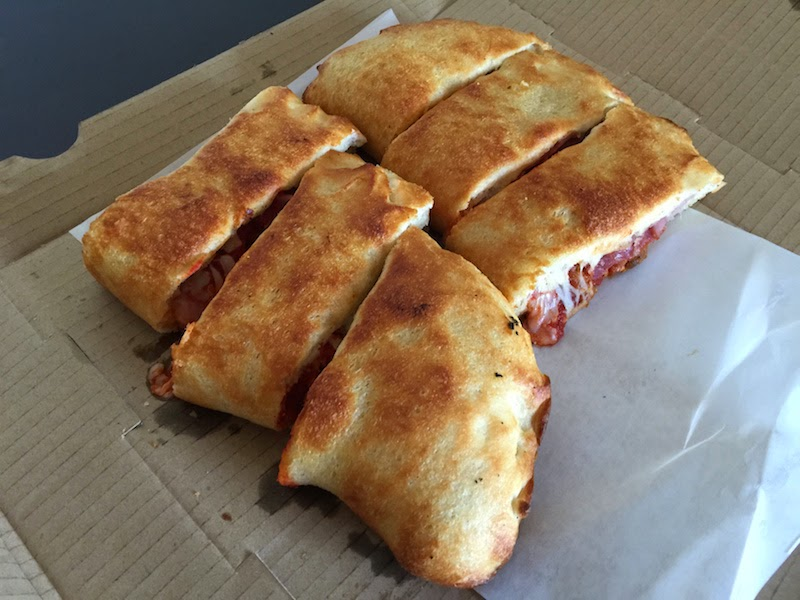 Stromboli at Four Kegs Sports Pub in Las Vegas