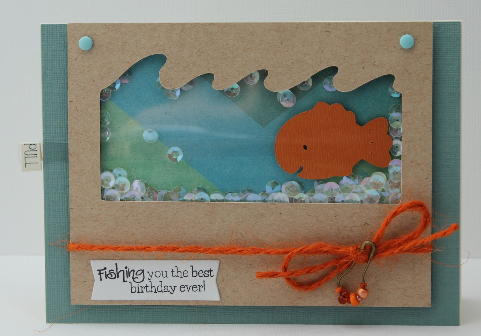 This and That Fish Birthday Card – Fish Birthday Cards