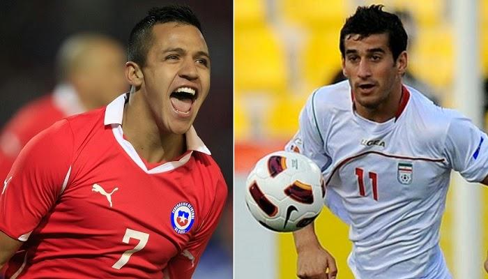 Chile vs Iran en vivo
