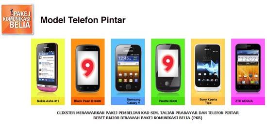 Pakej Komunikasi Belia Clixster Rebat RM200